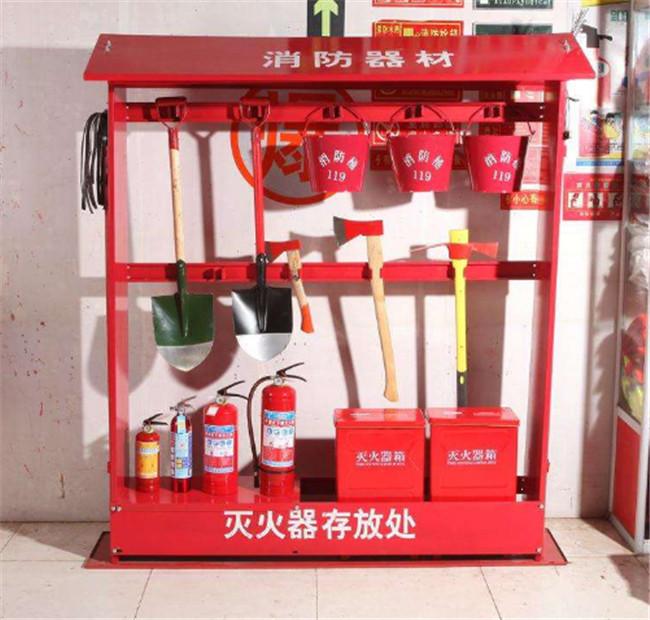 消防设施实物:消防器材